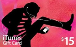 $15 US iTunes gift card