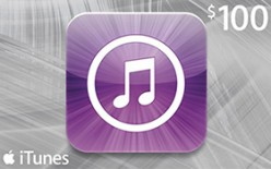 $100 US iTunes Gift Card